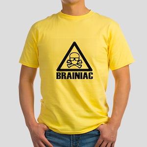 Brainiac Radioactive Yellow T-Shirt