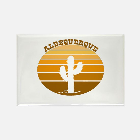 Albequerque, New Mexico Rectangle Magnet