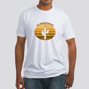 Albequerque, New Mexico Fitted T-Shirt