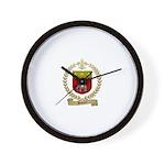 SONIER Family Crest Wall Clock