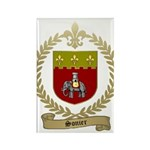 SONIER Family Crest Rectangle Magnet (100 pack)