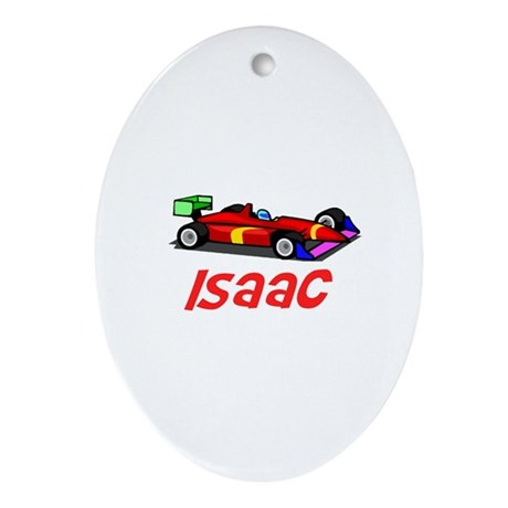 Isaac Oval Ornament