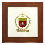 SONIER Family Crest Framed Tile