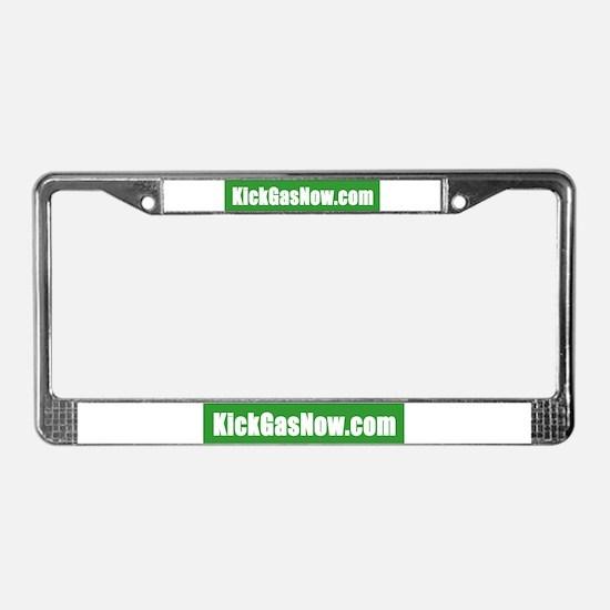 Funny Hybrid car License Plate Frame