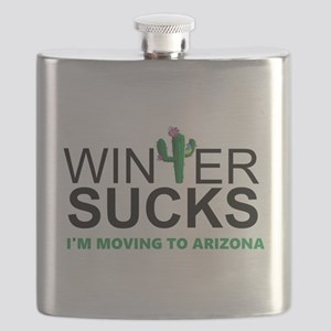 Winter Suck - I am moving to Arizona Flask