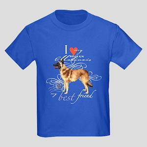 Belgian Malinois Kids Dark T-Shirt