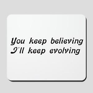 Atheist Statement Mousepad