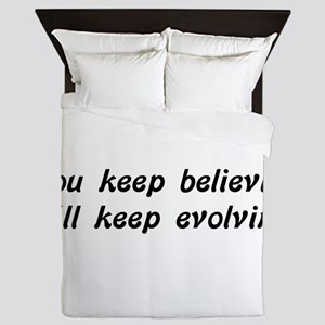 Atheist Statement Queen Duvet