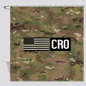U.S. Air Force: CRO (Camo) Shower Curtain