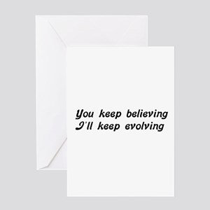 Atheist Statement Greeting Cards