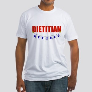 Retired Dietitian Fitted T-Shirt