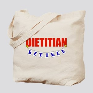 Retired Dietitian Tote Bag