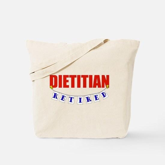 Retired Dietitian Tote Bag