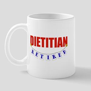 Retired Dietitian Mug