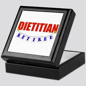 Retired Dietitian Keepsake Box