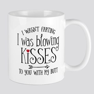 Fart Kiss 11 oz Ceramic Mug