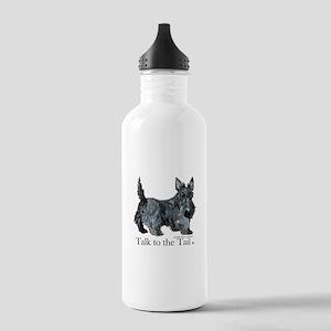 Scottish Terrier Attitude Water Bottle