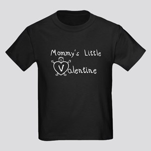 Mommy's Valentine (Boy) Kids Dark T-Shirt