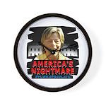 Billary America's Nightmare Wall Clock