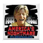 Billary America's Nightmare Tile Coaster