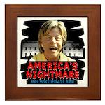 Billary America's Nightmare Framed Tile
