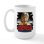 Billary America's Nightmare Large Mug
