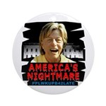 Billary America's Nightmare Ornament (Round)
