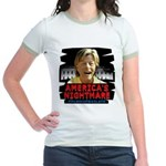 Billary America's Nightmare Jr. Ringer T-Shirt