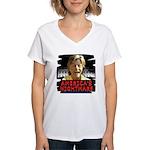 Billary America's Nightmare Women's V-Neck T-Shirt