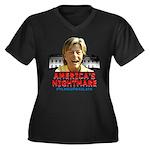 Billary America's Nightmare Women's Plus Size V-Ne