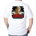 Billary America's Nightmare Golf Shirt