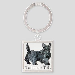 Scottish Terrier Attitude Keychains