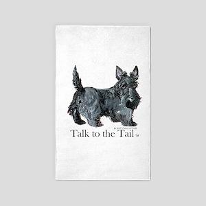 Scottish Terrier Attitude Area Rug
