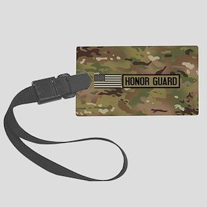 Military: Honor Guard (Camo) Large Luggage Tag