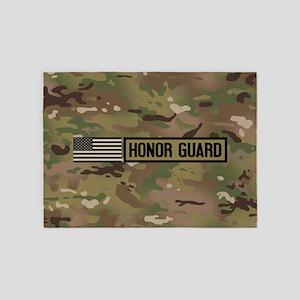 Military: Honor Guard (Camo) 5'x7'Area Rug