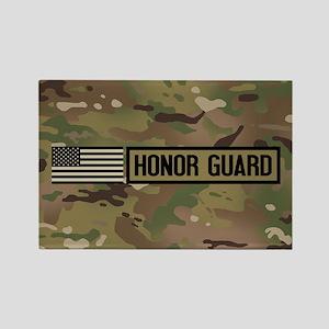 Military: Honor Guard (Camo) Rectangle Magnet