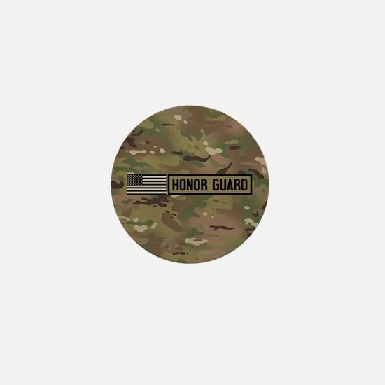 Military: Honor Guard (Camo) Mini Button