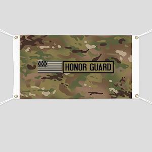 Military: Honor Guard (Camo) Banner