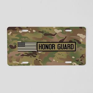 Military: Honor Guard (Camo Aluminum License Plate