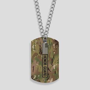 Military: Honor Guard (Camo) Dog Tags