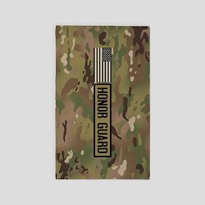 Military: Honor Guard (Camo) Area Rug