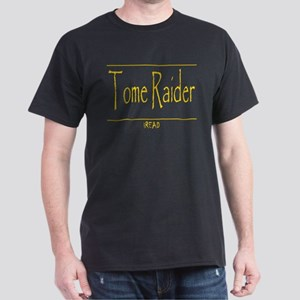 Tome Raider (gold) Dark T-Shirt