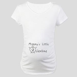 Mommy's Valentine (Boy) Maternity T-Shirt