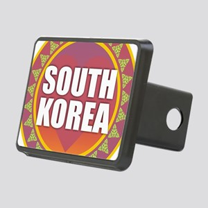 South Korea Heart Sun Rectangular Hitch Cover