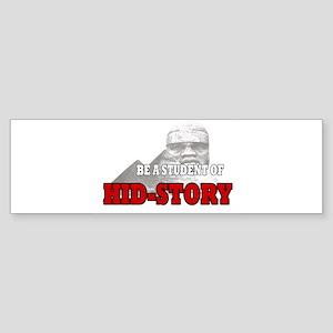 Black history hidden Bumper Sticker