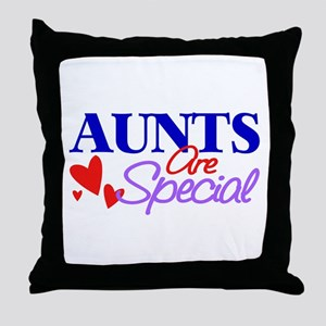 Aunts Are Special Throw Pillow