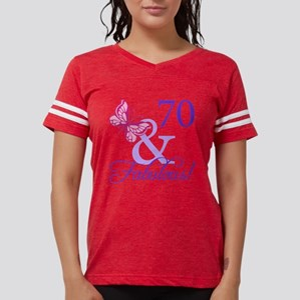 70th Birthday Butterfly T-Shirt