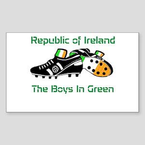 Republic of Ireland Football Sticker