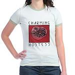 CHARMING HOSTESS Jr. Ringer T-Shirt