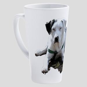 Catahoula Cur Laying Down 17 oz Latte Mug
